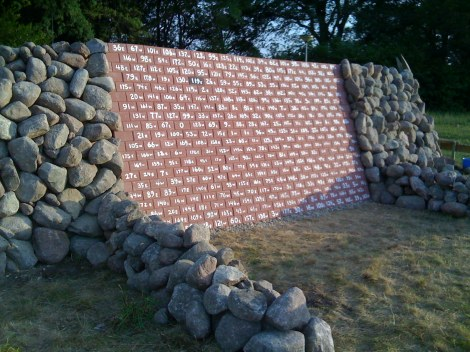 "Xavier Cortada, ""Endangered World: Life Wall,"" 2009 (Drenthe, Netherlands)"